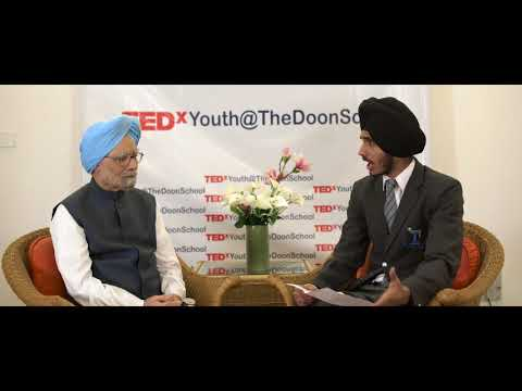 The Gentleman Prime Minister.  Dr. Manmohan Singh  TEDxYouth@DoonSchool