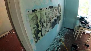 Ta'mirlash 2-bedroom Khrushchev. Part 2