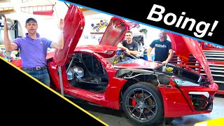 Full car FLEX! | Lykan Hypersport build #13 from Fast and the Furious Live Stunt Car