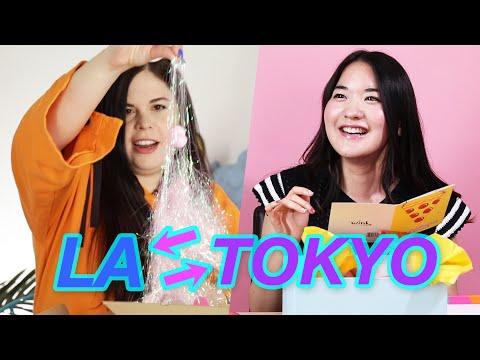 Women Swap Mystery Beauty Boxes • LA & Tokyo