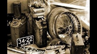 НАХОДКИ НА МЕТАЛЛОЛОМЕ   Поиск Ретро Запчастей   Abandoned motorcycle