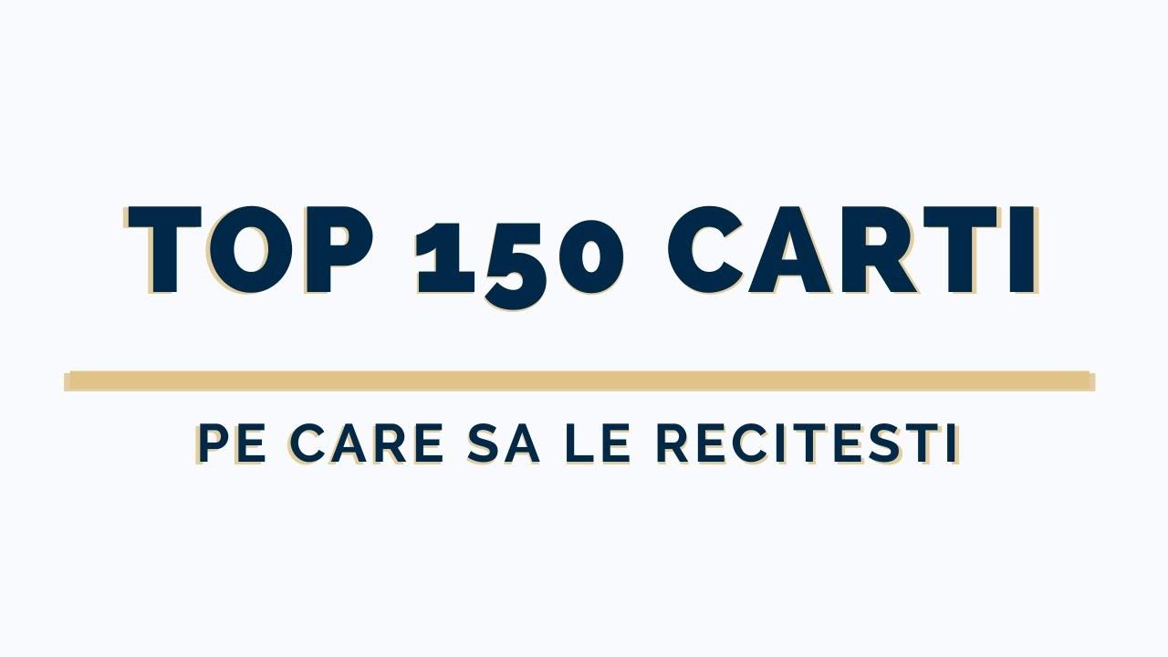 TOP 150 Cele mai Bune Carti din Lume in 2020 disponibile in Romania