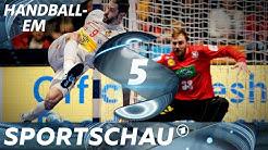 Traumtor aus der Drehung - die Top-Szenen aus Spanien - Deutschland | Handball-EM | Sportschau