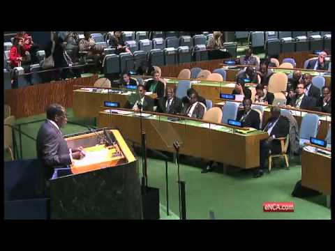 Mugabe delivers message to Western Nations