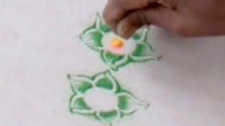 Latest Special Rangoli Design 18