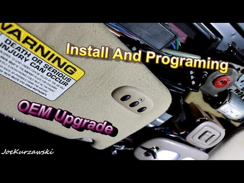 Let Talk Oem Upgrades! Plus Installing and Programing OEM HomeLink Garage Door Opener