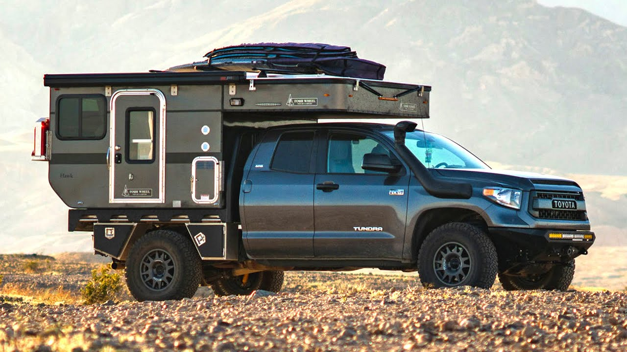 Inside Off Grid Toyota Tundra Four Wheel Campers Tour Youtube