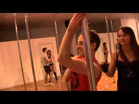 MCW wrestlers learn to pole dance