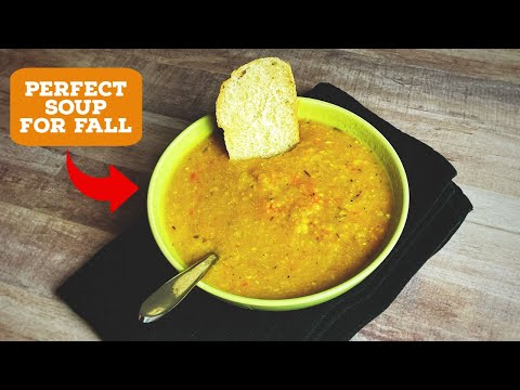 A Vegetarian Fall Harvest Soup