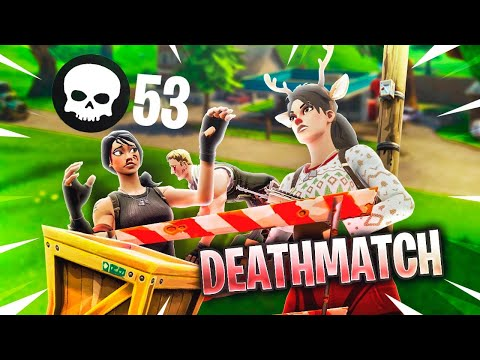 MAP DEATHMATCH EN FORTNITE (MODO CREATIVO)