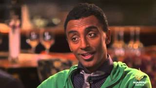 Ethiopian-born Marcus Samuelsson - one of the hottest chefs of our time