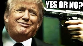 WOULD YOU SHOOT DONALD TRUMP?!? Yes Or No? (Mr.President Gameplay)
