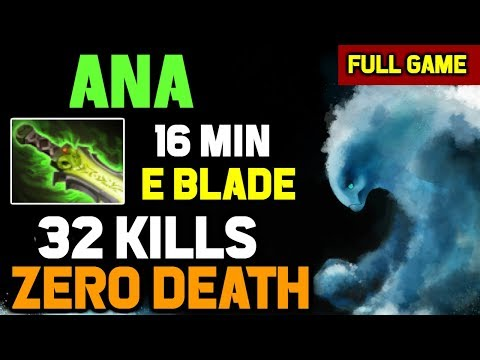 You Can Try But Can't Kill Him - Ana Unkillable Morphling Absolute Skill with RAMPAGE EndGame