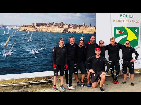 Rolex Middle Sea Race 2017 from HEBE V Sailing team