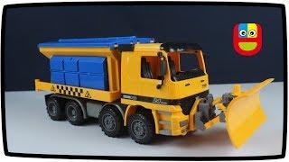 Video Mainan Anak Mobil Truk Salju Snow Plow Truck Toys for Kids download MP3, 3GP, MP4, WEBM, AVI, FLV Oktober 2018