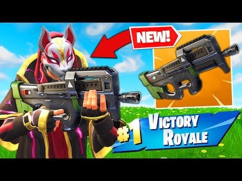 *NEW* LEGENDARY COMPACT SMG GAMEPLAY In Fortnite Battle Royale!