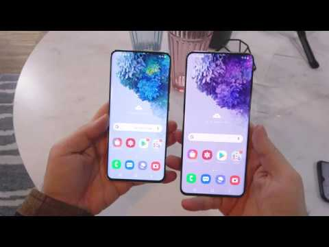 Samsung Galaxy S20 Plus Hands-On Review: Missing Link Between S20 and S20 Ultra (English)