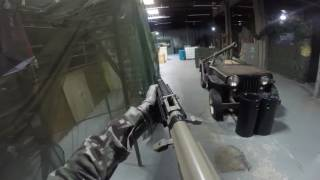 Live Airsoft Game Footage At Airsoft Tulsa Indoor Shot By GoPro 1