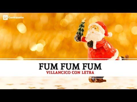 25 de diciembre Fum Fum Fum / fum fum fum villancico, Villancicos, Musica de Navidad, Feliz Navidad