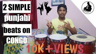 PLay 2 panjabi beats on congo