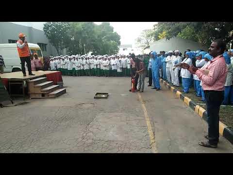 Fire Safety Training  In Geltec Ltd Bangalore