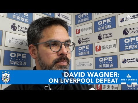 WATCH: David Wagner reflects on the defeat to Liverpool