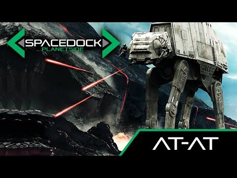 Star Wars: AT-AT Walker (Canon) - Spacedock Planetside