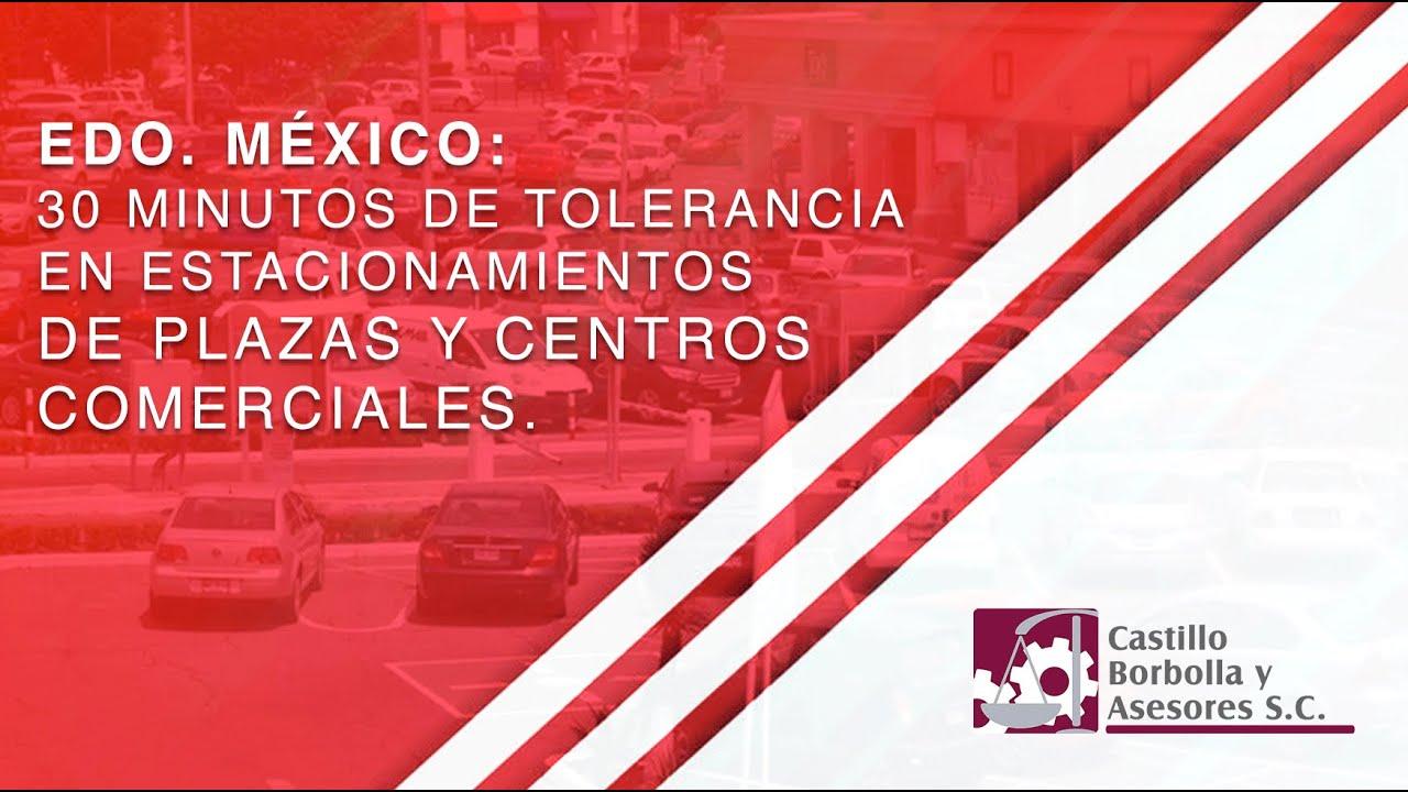🛑 #GRATIS 30 MINUTOS DE ESTACIONAMIENTO EN PLAZAS COMERCIALES #EDOMÉX