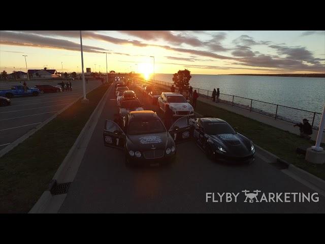 Michigan Drone Marketing | Fly By Marketing | Car Race