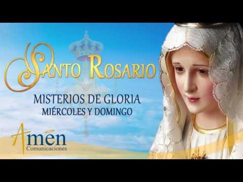 Santo Rosario en Audio - Misterios de Gloria - Miércoles y Domingo