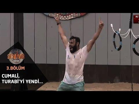Survivor 2018 | 3. Bölüm | Cumali, Turabi'yi yendi...