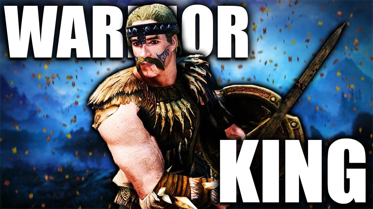 SKYRIM BUILDS: The Warrior King - Reachmen Legacy Build thumbnail