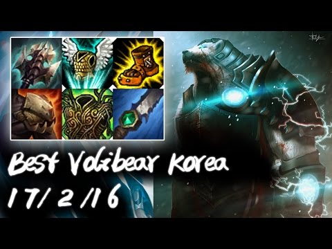 Best Volibear Korea Jungle vs Jax | 5K HP God Tank | Korea High Elo