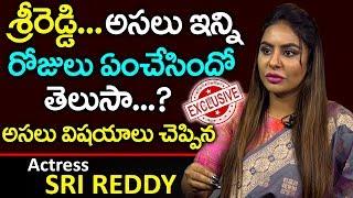 అసలు నిజాలు చెప్పి షాకిచ్చిన   Actress Sri Reddy Latest Exclusive Interview   PlayEven