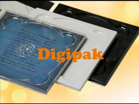 What is digipak? - A premium CD packaging