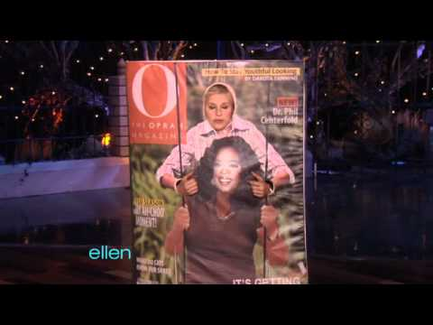 ellens oprah themed halloween costume - Oprah Winfrey Halloween Costume