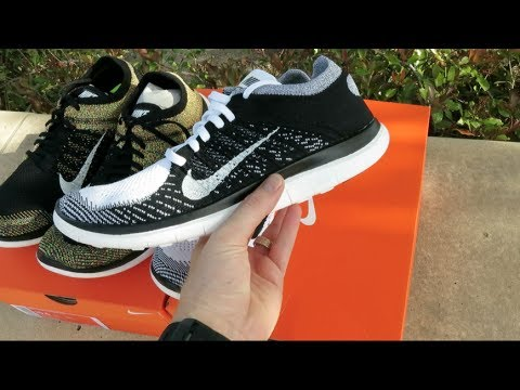 nike free flyknit 4 0 youtube. Black Bedroom Furniture Sets. Home Design Ideas