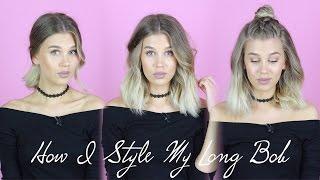 видео 5 стильных причесок для волос средней длины