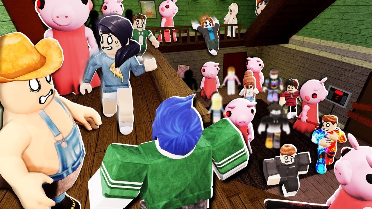 Roblox Imagescom Roblox Piggy But With 100 Players Youtube