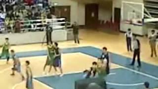 2011-2012 澳門學界-籃球-男子A組-決賽-勞校VS粵華中學-第三節-2012年2月24日