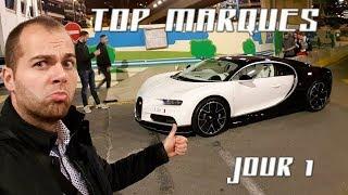 TOP MARQUES JOUR 1 ! CHIRON et Convoi de Supercars ! (VLOG #58)