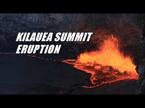 Kilauea Volcano Summit Eruption, 2016 Update