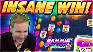INSANE WIN! Jammin Jars Big win - HUGE WIN on Casino slot