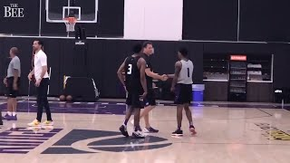 Watch Luke Walton and the Kings wrap up first pre-draft workout at Golden 1 Center