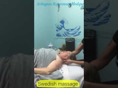 Swedish massage at Arlington Rejuvenage Medspa