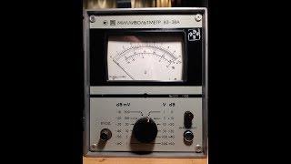 Izmailovka. Millivoltmeter v3-38A