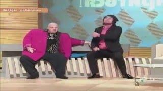 Стас Барецкий драка с Бари Алибасовым в студии нтв! шок!