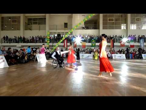 IPC Wheelchair Dance Sport –2011 Continents Cup in Russia: Standard Combi Round 1
