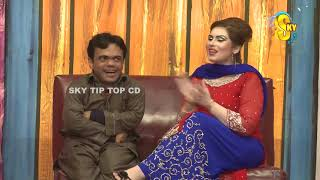 Comedy Clip 2019 Stage DramaTotal Dhamaal Best Of Vicky Kodu With Khubsoorat Kaif and Shaukat Rangee
