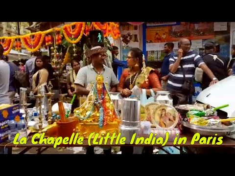 La Chapelle (Little India) in Paris